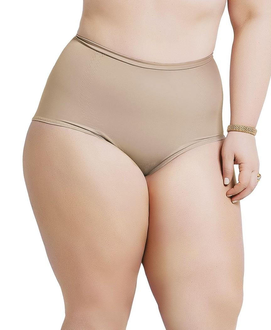 eb4d265f2 Cinta Modeladora Yoga Plus Size sem Pernas com Reforço no Abdômen ...